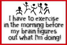 morning exercise joke