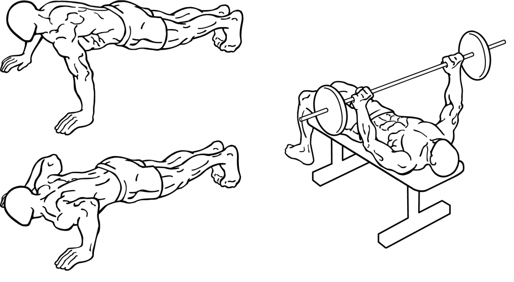 Push-up & bench press